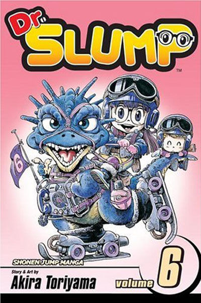 Cover for Dr. Slump (Viz, 2005 series) #6