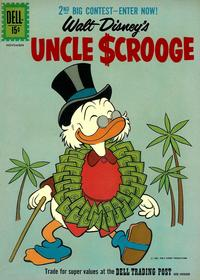 Cover Thumbnail for Uncle Scrooge (Dell, 1953 series) #35