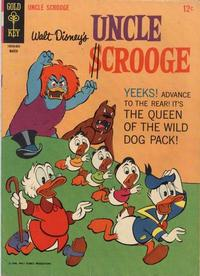 Cover Thumbnail for Uncle Scrooge (Western, 1963 series) #62