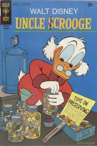 Cover Thumbnail for Uncle Scrooge (Western, 1963 series) #89