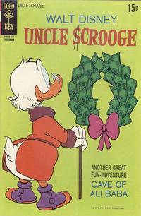 Cover Thumbnail for Uncle Scrooge (Western, 1963 series) #90