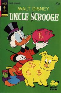 Cover Thumbnail for Uncle Scrooge (Western, 1963 series) #107 [Gold Key]