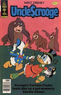 Cover Thumbnail for Uncle Scrooge (Western, 1963 series) #170 [Gold Key Variant]