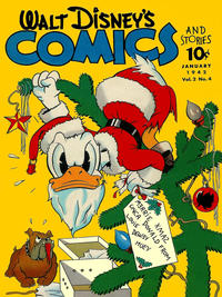 Cover Thumbnail for Walt Disney&#39;s Comics and Stories (Dell, 1940 series) #v2#4 [16]