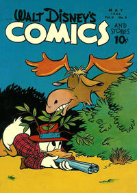 Cover Thumbnail for Walt Disney's Comics and Stories (Dell, 1940 series) #v6#8 (68)
