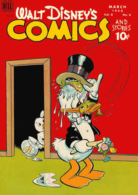 Cover Thumbnail for Walt Disney's Comics and Stories (Dell, 1940 series) #v8#6 (90)