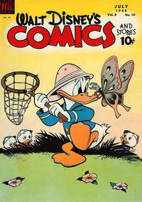 Cover Thumbnail for Walt Disney's Comics and Stories (Dell, 1940 series) #v8#10 (94)