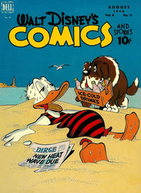 Cover Thumbnail for Walt Disney's Comics and Stories (Dell, 1940 series) #v8#11 (95)
