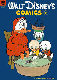 Cover Thumbnail for Walt Disney's Comics and Stories (Dell, 1940 series) #v14#4 (160)