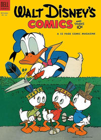 Cover Thumbnail for Walt Disney's Comics and Stories (Dell, 1940 series) #v14#12 (168)