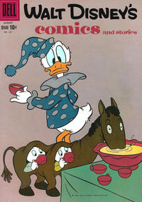 Cover Thumbnail for Walt Disney's Comics and Stories (Dell, 1940 series) #v19#11 (227)