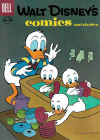Cover Thumbnail for Walt Disney's Comics and Stories (Dell, 1940 series) #v20#3 (231)