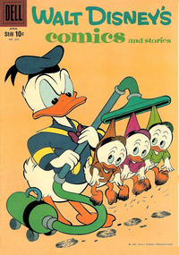 Cover Thumbnail for Walt Disney's Comics and Stories (Dell, 1940 series) #v20#7 (235)