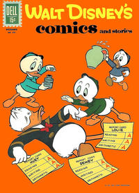 Cover Thumbnail for Walt Disney's Comics and Stories (Dell, 1940 series) #v22#3 (255)