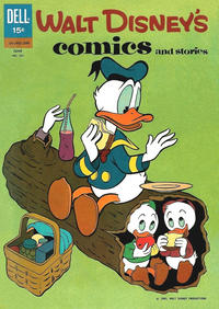 Cover Thumbnail for Walt Disney's Comics and Stories (Dell, 1940 series) #261