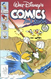 Cover for Walt Disney's Comics and Stories (Disney, 1990 series) #548