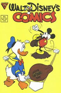 Cover Thumbnail for Walt Disney's Comics and Stories (Gladstone, 1986 series) #519