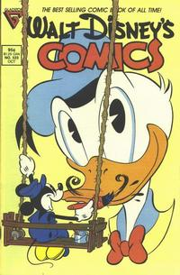 Cover Thumbnail for Walt Disney's Comics and Stories (Gladstone, 1986 series) #523