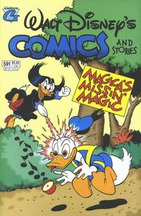Cover Thumbnail for Walt Disney's Comics and Stories (Gladstone, 1993 series) #591