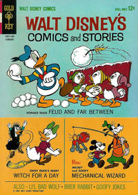 Cover for Walt Disney's Comics and Stories (1962 series) #281