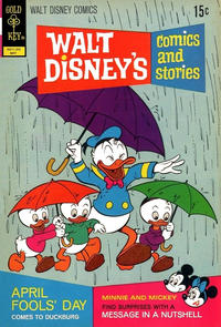 Cover Thumbnail for Walt Disney's Comics and Stories (Western, 1962 series) #v32#8 (380) [Gold Key]