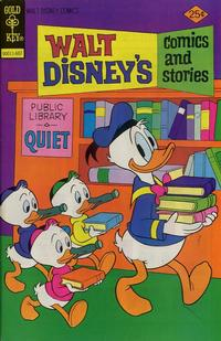 Cover Thumbnail for Walt Disney's Comics and Stories (Western, 1962 series) #v36#10 (430) [Gold Key]