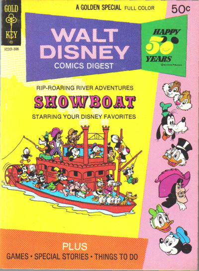 Cover for Walt Disney Comics Digest (Western, 1968 series) #41