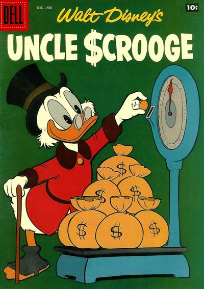 Cover for Uncle Scrooge (Dell, 1953 series) #20