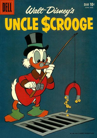Cover for Uncle Scrooge (Dell, 1953 series) #26