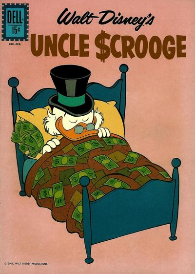 Cover for Uncle Scrooge (Dell, 1953 series) #36