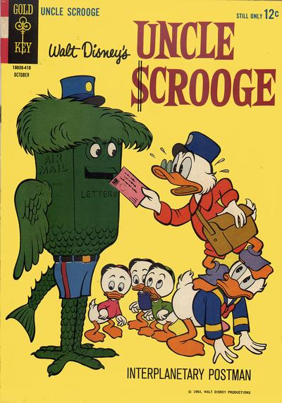Cover for Uncle Scrooge (Western, 1963 series) #53