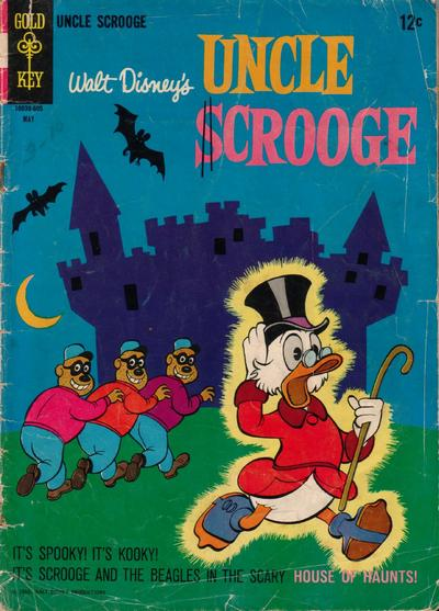 Cover for Uncle Scrooge (Western, 1963 series) #63