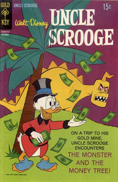 Cover for Uncle Scrooge (Western, 1963 series) #83