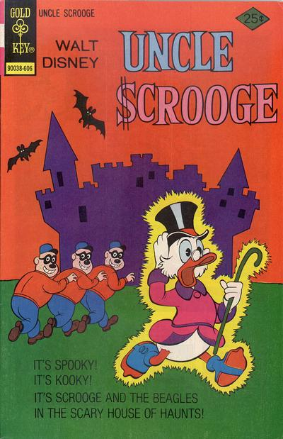 Cover for Uncle Scrooge (Western, 1963 series) #129 [Gold Key]