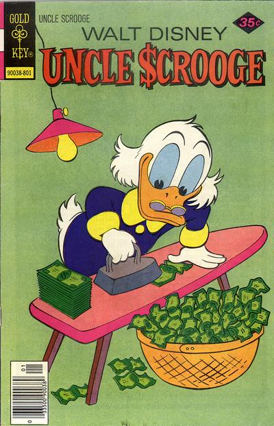 Cover for Uncle Scrooge (Western, 1963 series) #148 [Gold Key]