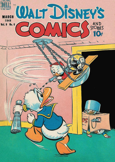 Cover for Walt Disney's Comics and Stories (Dell, 1940 series) #v9#6 (102)