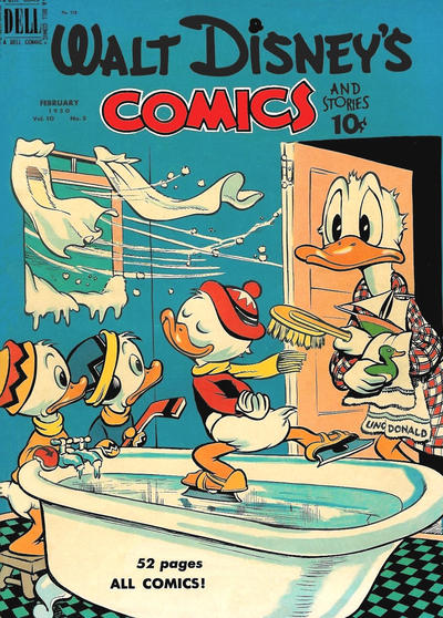 Cover for Walt Disney's Comics and Stories (Dell, 1940 series) #v10#5 (113)