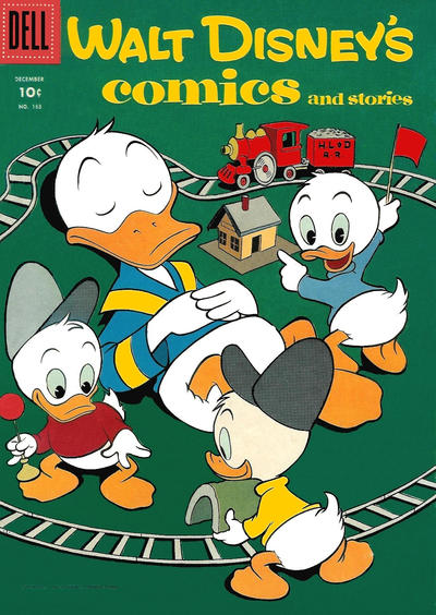 Cover for Walt Disney's Comics and Stories (Dell, 1940 series) #v16#3 (183)
