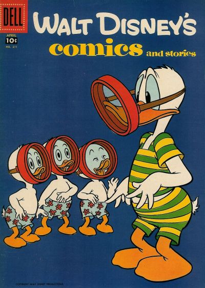 Cover for Walt Disney&#39;s Comics and Stories (1940 series) #211