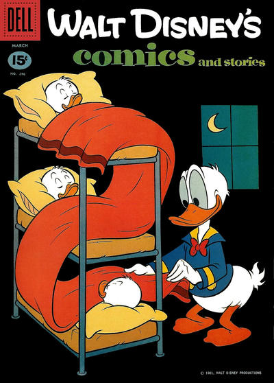 Cover for Walt Disney's Comics and Stories (Dell, 1940 series) #v21#6 (246)