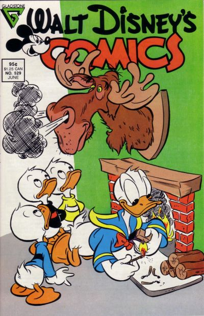Cover for Walt Disney's Comics and Stories (Gladstone, 1986 series) #529