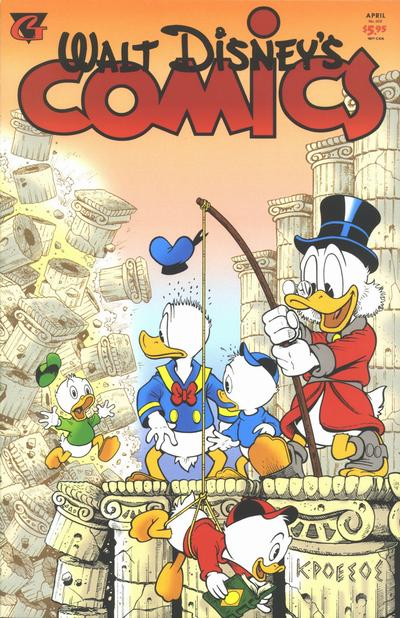 Cover for Walt Disney's Comics and Stories (Gladstone, 1993 series) #602
