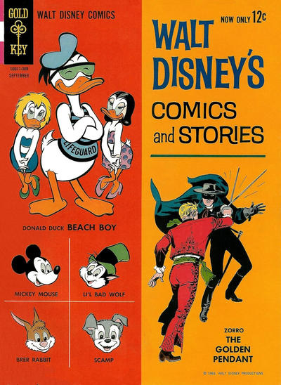 Cover for Walt Disney's Comics and Stories (Western, 1962 series) #v23#12 (276)
