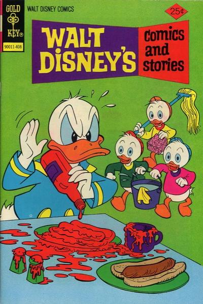 Cover for Walt Disney's Comics and Stories (1962 series) #407