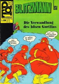 Cover Thumbnail for Top Comics Blitzmann (BSV - Williams, 1970 series) #100