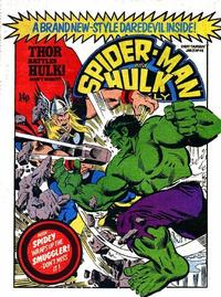 Cover Thumbnail for Spider-Man and Hulk Weekly (Marvel UK, 1980 series) #411