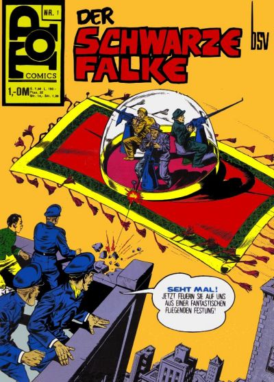 Cover for Top Comics (BSV - Williams, 1969 series) #1