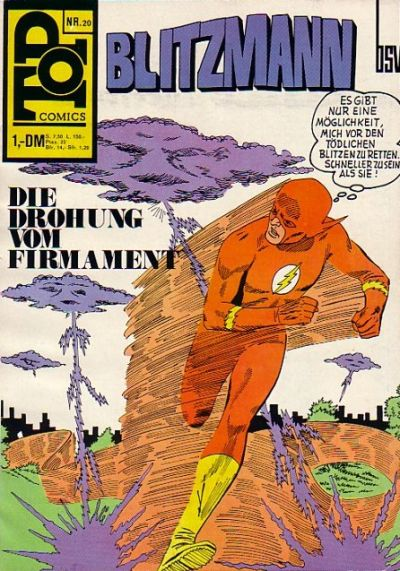 Cover for Top Comics (BSV - Williams, 1969 series) #20