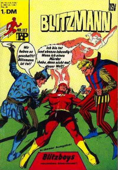 Cover for Top Comics Blitzmann (BSV - Williams, 1970 series) #117