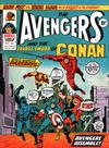 Cover for The Avengers (Marvel UK, 1973 series) #128